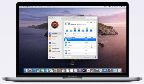 Screen Time on Mac