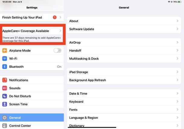 How to Add AppleCare to iPad or iPhone