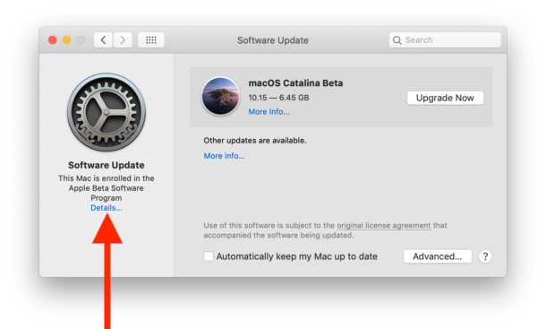 How to remove the macOS beta profile