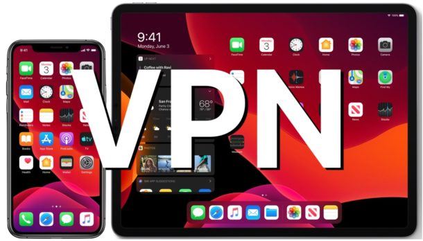 VPN on iPhone or iPad