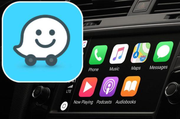 Use Waze on CarPlay