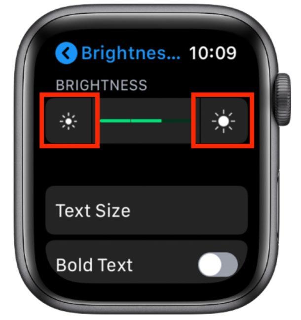 How to change Apple Watch screen brightness