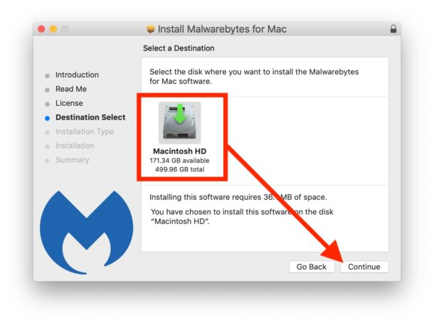 Install Malwarebytes on Mac