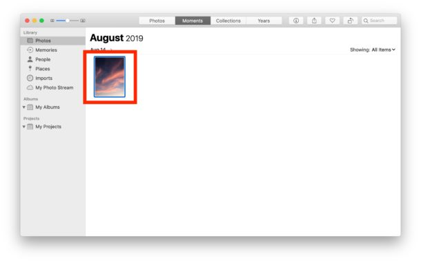 How to rotate a picture in Photos on Mac