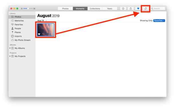 How to rotate images in Photos on Mac