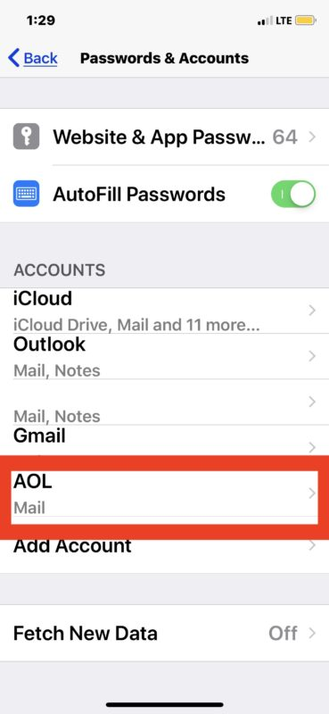 How to update email password on iPhone or iPad