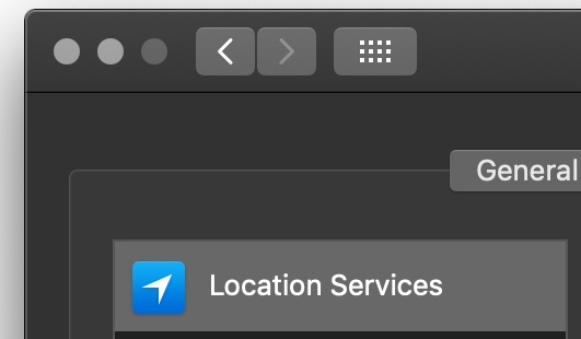 How to disable Location usage for Apple Ads on Mac