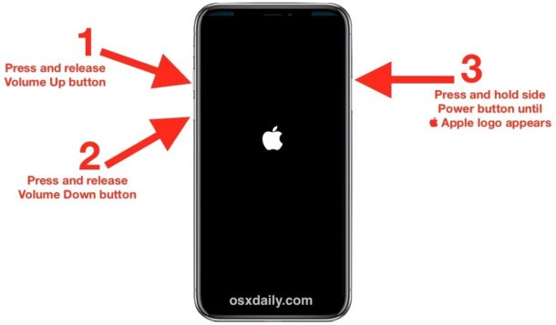How to force restart new iPhone models and iPad models without Home buttons