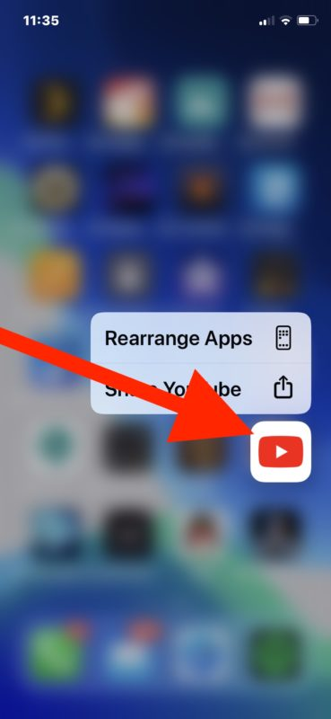 How to delete apps in iOS 13 step 2