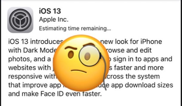 Troubleshooting iOS 13 update