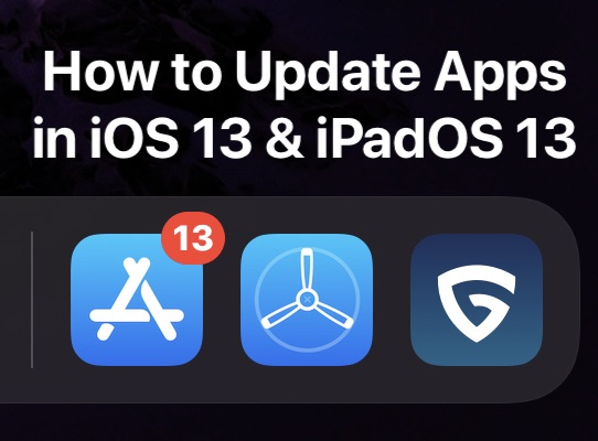 How to update apps in iOS 13 and iPadOS 13