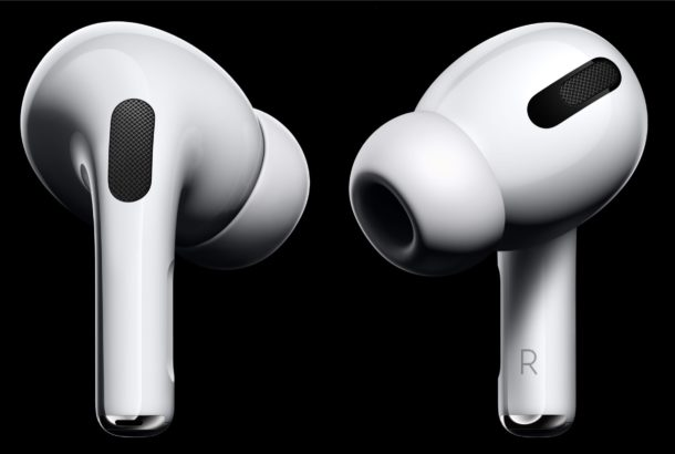 AirPods Pro noise cancellation and transparency features