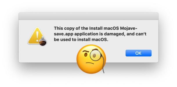 Fix copy of Install MacOS damaged and cant be used to install macOS