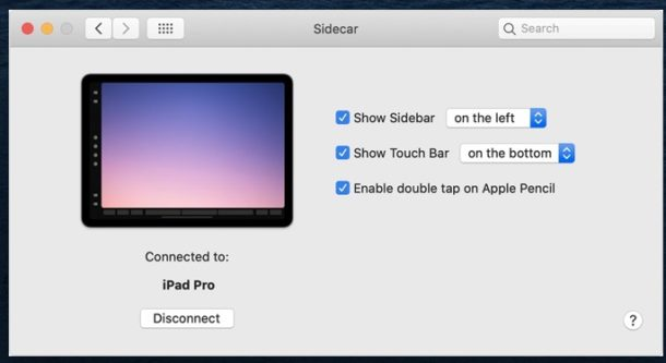How to enable Sidecar on Mac with iPad