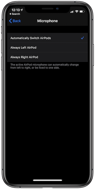 Tap the earbud you'd like to act as AirPods Pro microphone