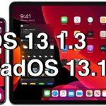 iOS 13.1.3 and iPadOS 13.1.3