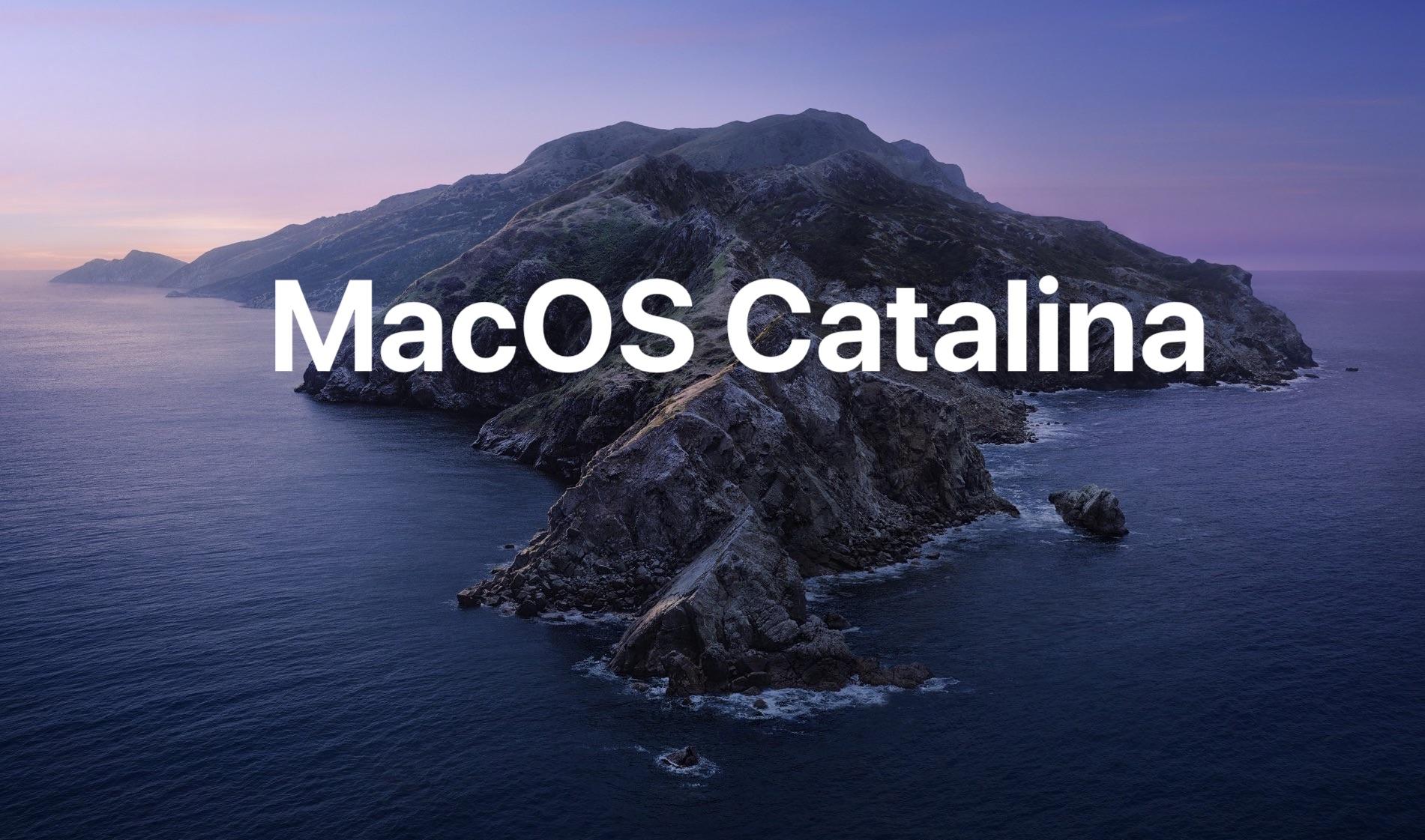 MacOS Catalina 10.15.7 Supplemental Update Released