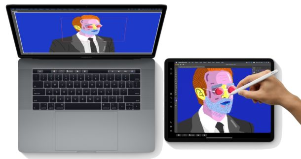 Sidecar compatible Mac and iPad models