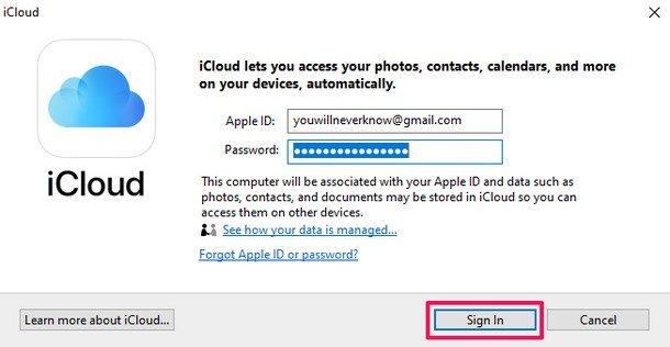 How to Access iCloud Photos from Windows