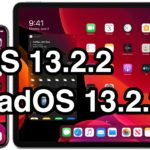 iOS 13.2.2 and iPadOS 13.2.2