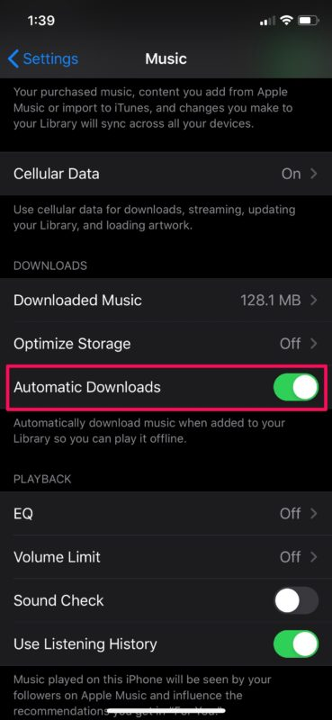How to Automatically Download Apple Music Songs on iPhone