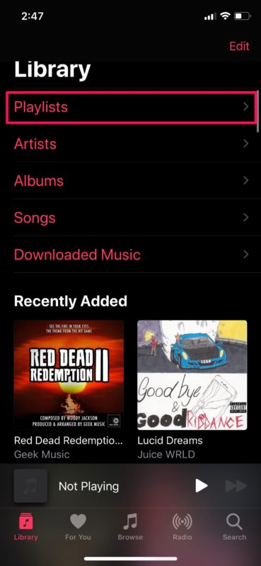 How to Create Playlists in Apple Music on iPhone & iPad