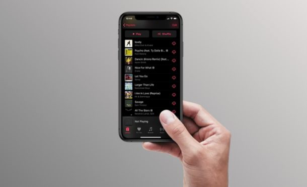 How to See Your Recently Played Songs in Apple Music
