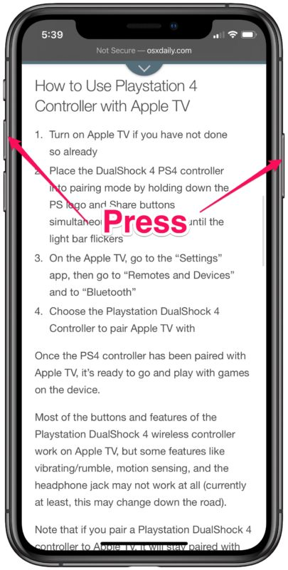 How to Take Full Page Screenshots in Safari