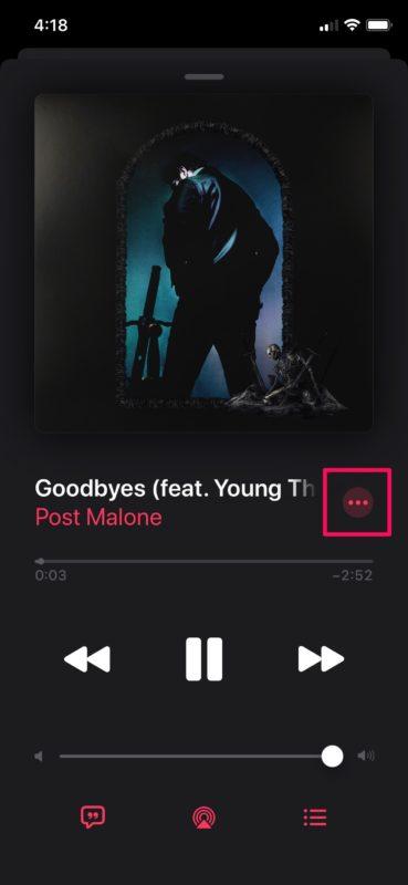 How to View Full Lyrics Apple Music