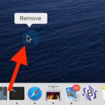 How to remove app icons from the Mac Dock
