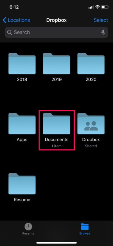How to Access & Edit Dropbox Files from iPhone & iPad