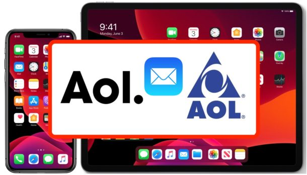 How to Add an AOL Email Account to iPhone or iPad