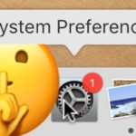 How to hide the red badge icon from MacOS System Preferences