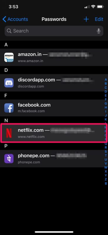 How to Edit Saved Passwords on iPhone & iPad