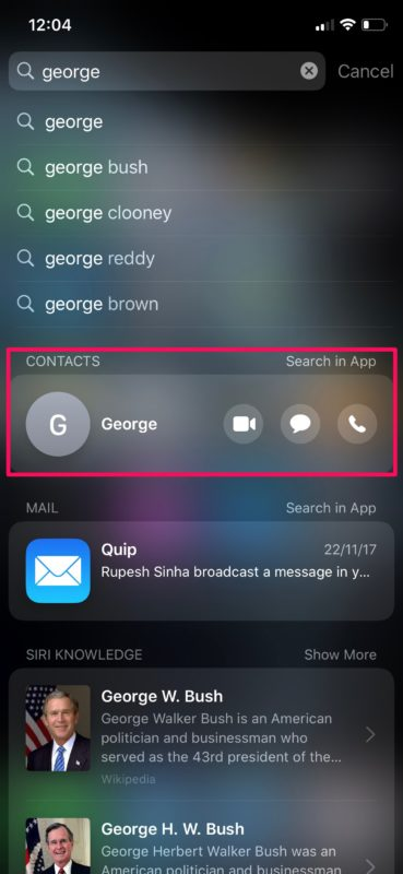 How to Search on iPhone & iPad with Spotlight
