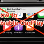 How to Disable CarPlay