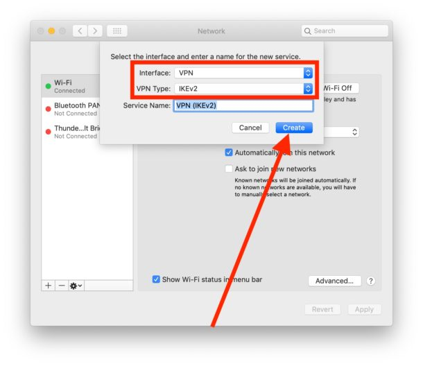 How to setup a VPN on Mac