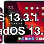 iOS 13.3.1 and iPadOS 13.3.1
