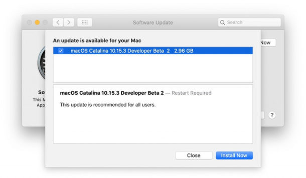 MacOS Catalina 10.15.3 beta 2 download