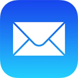 The Mail app icon on iPhone and iPad