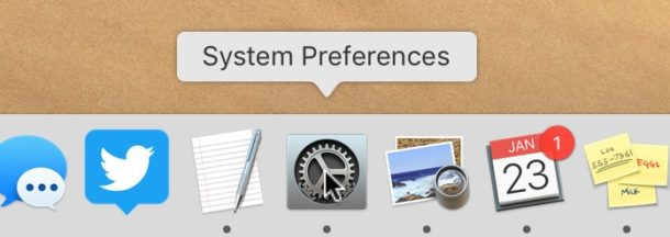 Red badge hidden from the MacOS System Preferences icon