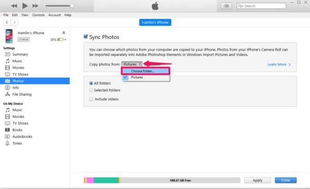 How to Transfer Photos from PC to iPhone & iPad