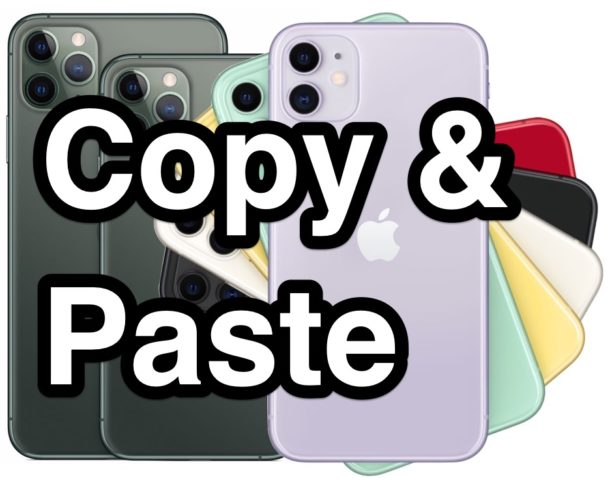 How to Copy, Cut, and Paste on iPhone