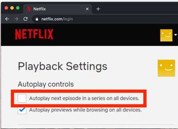 How to disable Netflix autoplaying shows and episodes
