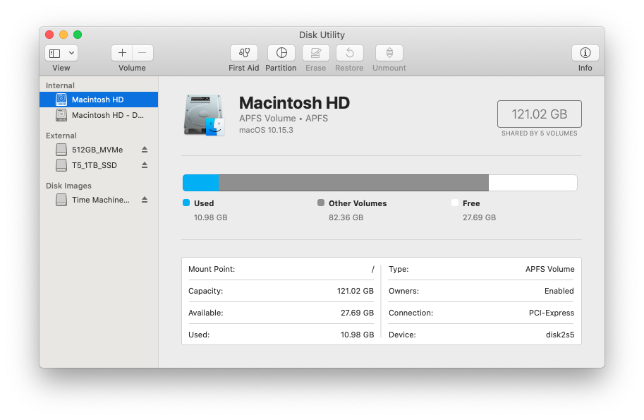 How To Create A New Partition In Macos Osxdaily