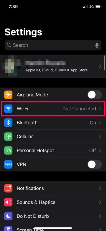 How to Connect to Wi-Fi Network on iPhone & iPad