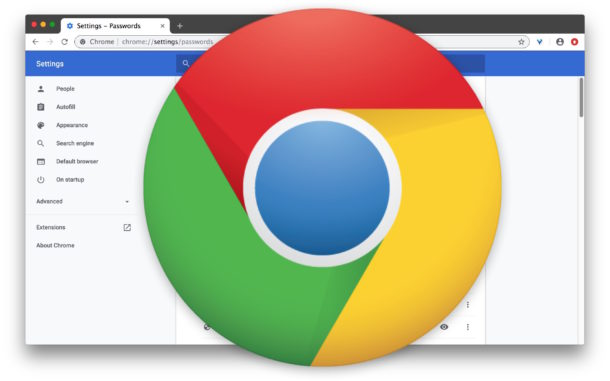 How to view saved passwords and logins in Chrome on Mac