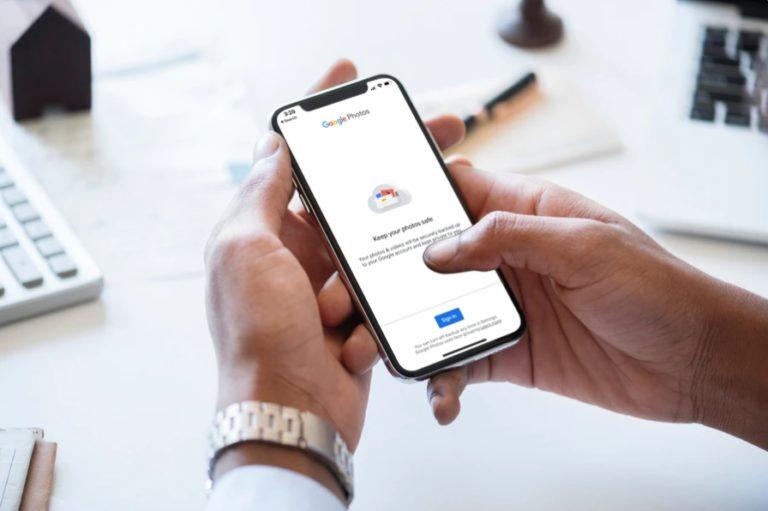 How to Backup iPhone Photos to Google Photos