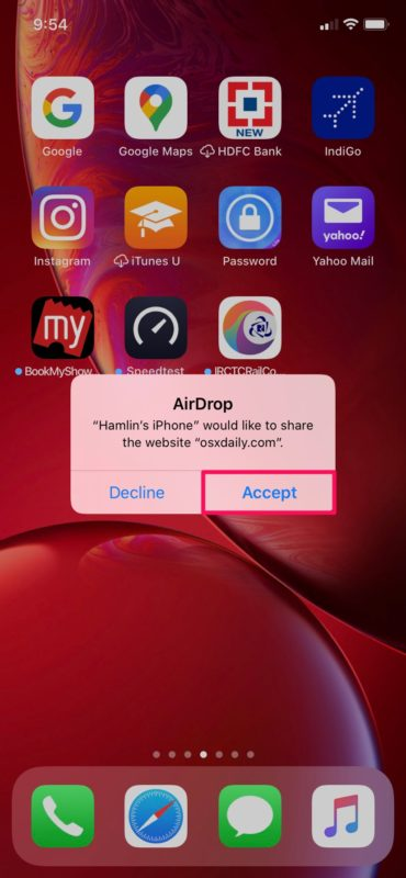 How to Use AirDrop on iPhone and iPad