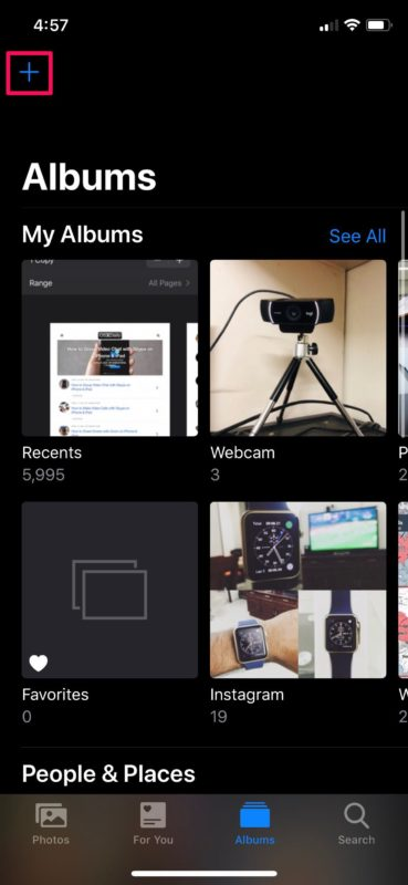 How to Create Shared Photo Albums on iPhone & iPad